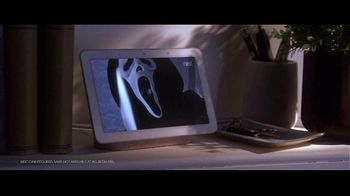Google Home Hub TV Spot, '#HeyGoogle: Scream' Featuring Drew Barrymore - Thumbnail 4