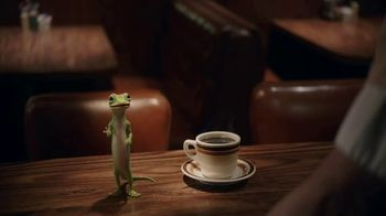 GEICO TV Spot, 'The Gecko Visits a Diner' - Thumbnail 2
