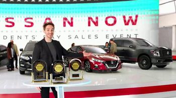Nissan Now Presidents Day Sales Event TV Spot, 'Big News' [T2] - 159 commercial airings