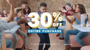 Old Navy TV Spot, 'Say Hi to Big Savings' Song by Earl Juke - Thumbnail 7