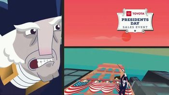 Toyota Presidents Day Sales Event TV Spot, 'Final Days: By Land, Sea or Air' [T2] - Thumbnail 3