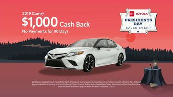Toyota Presidents Day Sales Event TV Spot, 'Final Days: By Land, Sea or Air' [T2] - Thumbnail 5