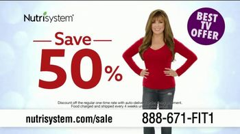 Nutrisystem Spring Sales Event TV Spot, 'Save 50 Percent' Featuring Marie Osmond