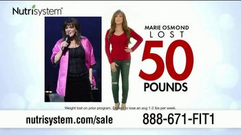 Nutrisystem Spring Sales Event TV Spot, 'Save 50 Percent' Featuring Marie Osmond - Thumbnail 4