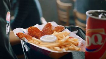 Dairy Queen Chicken Strip Baskets TV Spot, 'Sauced and Tossed' - Thumbnail 2