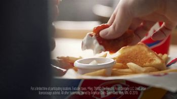 Dairy Queen Chicken Strip Baskets TV Spot, 'Sauced and Tossed' - Thumbnail 9