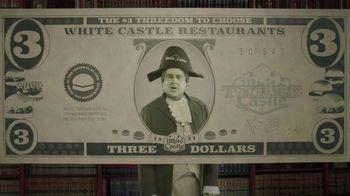 White Castle $3 Threedom to Choose TV Spot, 'Three Dollar Bill' - Thumbnail 3