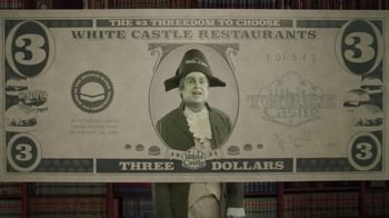 White Castle $3 Threedom to Choose TV Spot, 'Three Dollar Bill' - Thumbnail 4