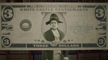 White Castle $3 Threedom to Choose TV Spot, 'Three Dollar Bill'