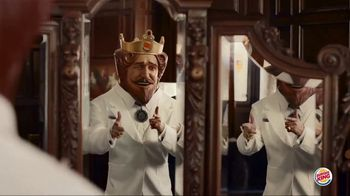 Burger King Flame Grilled Chicken Sandwich TV Spot, 'King of Flame-Grilling' - 2495 commercial airings