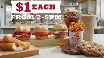 Arby's $1 Menu TV Spot, 'Afternoon Snack' Featuring H. Jon Benjamin, Song by YOGI - Thumbnail 8