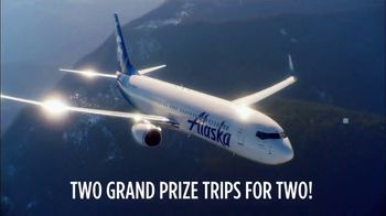 Alaska Airlines On The Red Carpet Sweepstakes TV Spot, 'Fantasy Seatmate'