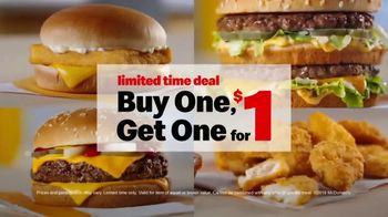 McDonald's Buy One, Get One for $1 TV Spot, 'Choose' - Thumbnail 3
