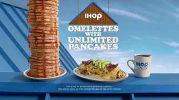 IHOP Omelettes With Unlimited Pancakes TV Spot, 'Coin Toss' - Thumbnail 10
