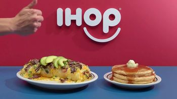 IHOP Omelettes With Unlimited Pancakes TV Spot, 'Coin Toss' - Thumbnail 2