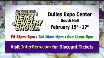 International Gem & Jewelry Show Inc. TV Spot, '2019 Dulles Expo Center' - Thumbnail 10