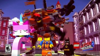 LEGO Movie 2 Video Game TV Spot, 'Amazing New Worlds' Song by Can't Stop Won't Stop - Thumbnail 1