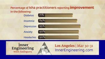 Inner Engineering With Sadhguru TV Spot, '2019 Los Angeles: Isha Practitioners' - 3 commercial airings