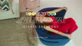 Rooms to Go 28th Anniversary Sale TV Spot, 'Now's the Time to Save' Song by Portugal. The Man - Thumbnail 10
