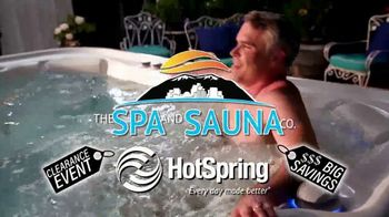 HotSpring Hot Tub Clearance Event TV Spot, 'Clearing Out' - Thumbnail 2