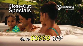 HotSpring Hot Tub Clearance Event TV Spot, 'Clearing Out' - Thumbnail 5