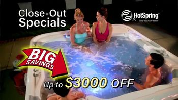 HotSpring Hot Tub Clearance Event TV Spot, 'Clearing Out'