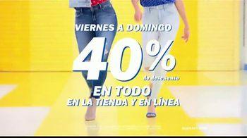 Old Navy Rockstar Jeans TV Spot, 'Entona tus jeans' canción por Kaskade [Spanish] - Thumbnail 5