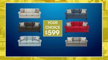 Rooms to Go 28th Anniversary Sale TV Spot, 'Sleeper Sofa Savings' - Thumbnail 3
