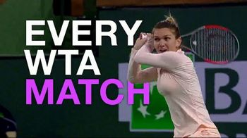Tennis Channel Plus TV Spot, 'Every WTA Match: Indian Wells and Miami' - 23 commercial airings
