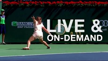 Tennis Channel Plus TV Spot, 'Every WTA Match: Indian Wells and Miami' - Thumbnail 7