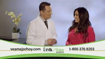 The LASIK Vision Institute TV Spot, 'La respuesta que has estado buscando' con Penélope Menchaca [Spanish] - 305 commercial airings