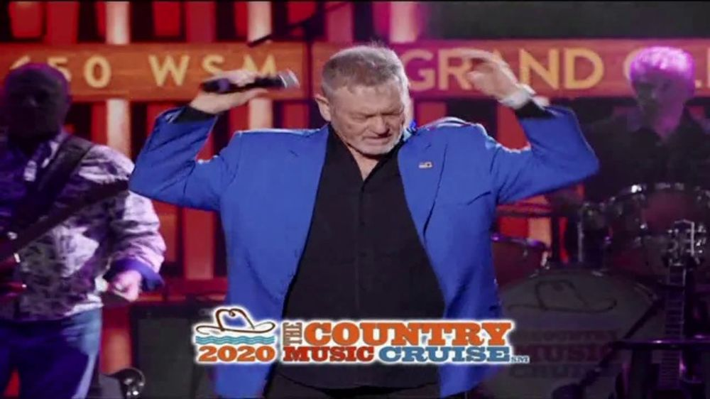 Country Music Cruise 2020.Starvista Live Tv Commercial 2020 Country Music Cruise Featuring Tracy Lawrence Video