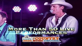 StarVista LIVE TV Spot, '2020 Country Music Cruise' Featuring Tracy Lawrence