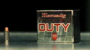 Hornady Critical Duty TV Spot, 'Our Best' - Thumbnail 3