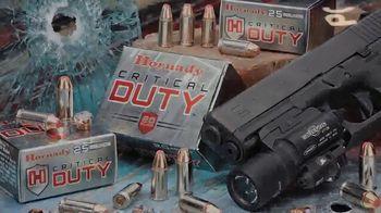 Hornady Critical Duty TV Spot, 'Our Best' - Thumbnail 7