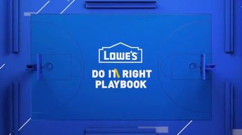 Lowe's TV Spot, 'Do It Wright Playbook: Yardsmanship' Featuring Jay Wright - Thumbnail 2