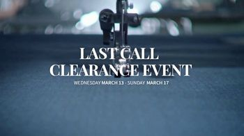 JoS. A. Bank Last Call Clearance Event TV Spot, 'Suits, Sportcoats and Dress Shirts' - Thumbnail 1