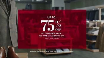 JoS. A. Bank Last Call Clearance Event TV Spot, 'Suits, Sportcoats and Dress Shirts' - Thumbnail 4