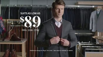 JoS. A. Bank Last Call Clearance Event TV Spot, 'Suits, Sportcoats and Dress Shirts' - Thumbnail 5