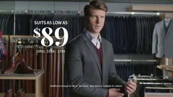 JoS. A. Bank Last Call Clearance Event TV Spot, 'Suits, Sportcoats and Dress Shirts' - Thumbnail 6