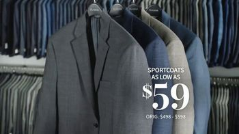 JoS. A. Bank Last Call Clearance Event TV Spot, 'Suits, Sportcoats and Dress Shirts' - Thumbnail 7