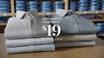 JoS. A. Bank Last Call Clearance Event TV Spot, 'Suits, Sportcoats and Dress Shirts' - Thumbnail 8