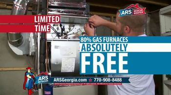 ARS Rescue Rooter Free Furnace Time TV Spot, 'Buy an Air Conditioner, Get a Furnace' - Thumbnail 4