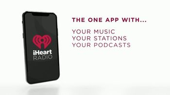 iHeartRadio TV Spot, \'Your Stuff, One App\'