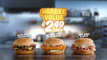 Hardee's Hardee Value TV Spot, '$2.49 Each'