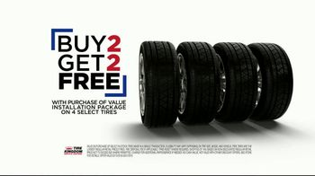 Tire Kingdom TV Spot, 'Buy Two, Get Two Free'