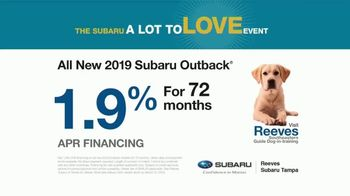 Subaru A Lot to Love Event TV Spot, 'Most Trusted' [T2] - Thumbnail 8