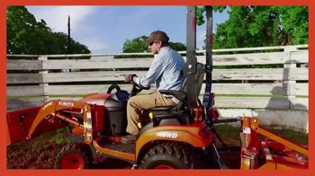 Kubota BX1880TV Spot, 'Work Week'