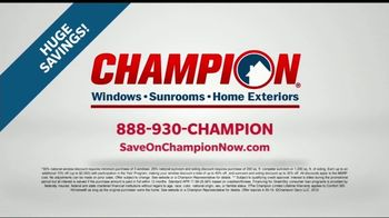 Champion Windows Home Makeover Sale TV Spot, 'Save Big' - Thumbnail 9