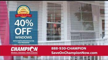 Champion Windows Home Makeover Sale TV Spot, 'Save Big' - Thumbnail 4